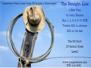The Straight Line Poster
